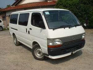 Toyota Hiace, Theft is an issue!