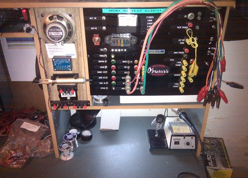12 volt test bench
