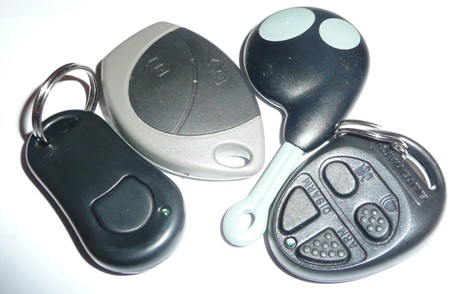 Car alarm remote