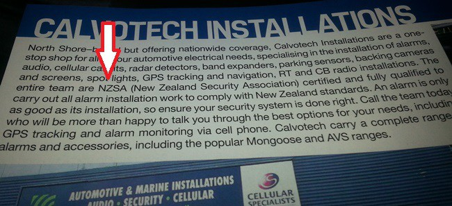 Feckless Quot Security Feature Quot In Nz Performance Car Magazine