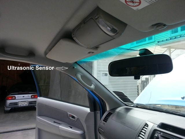 How To Break A Car Window >> Ultrasonic Sensors - Obsessive Vehicle Security BlogObsessive Vehicle Security Blog