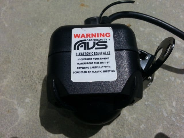 Moist AVS siren. Even comes with a warning!