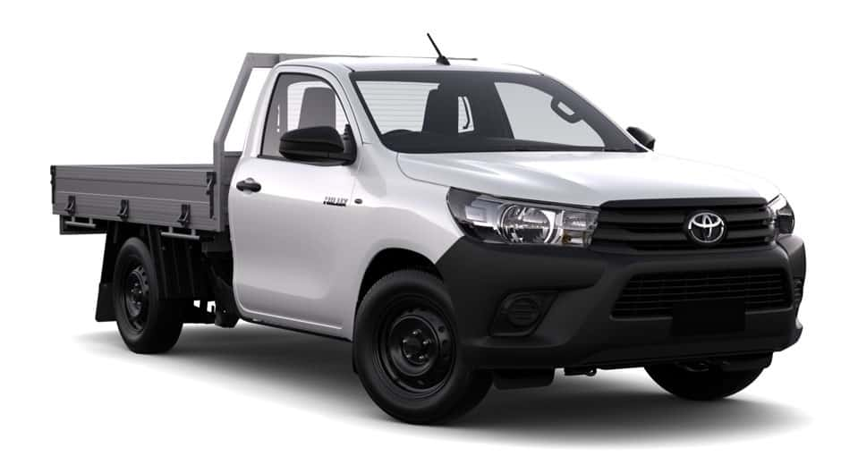 Hilux Work mate alarm