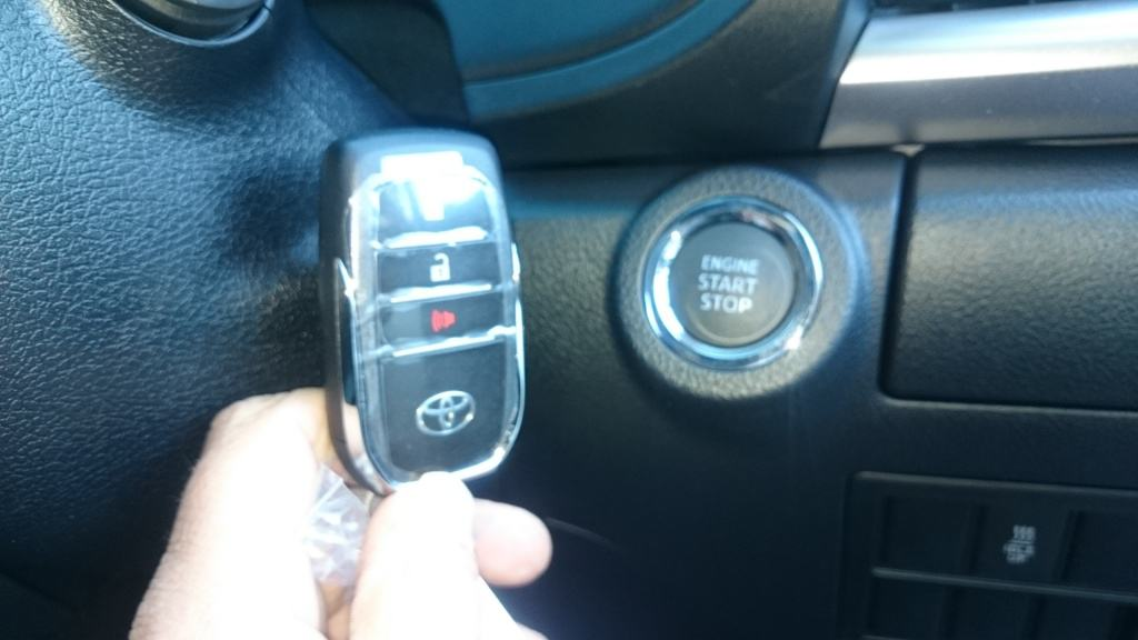 Smart Key with Push to Start Button