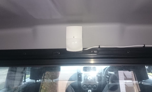 PIR Sensor covers the Canopy in the Ranger and can be added to post 2015 models