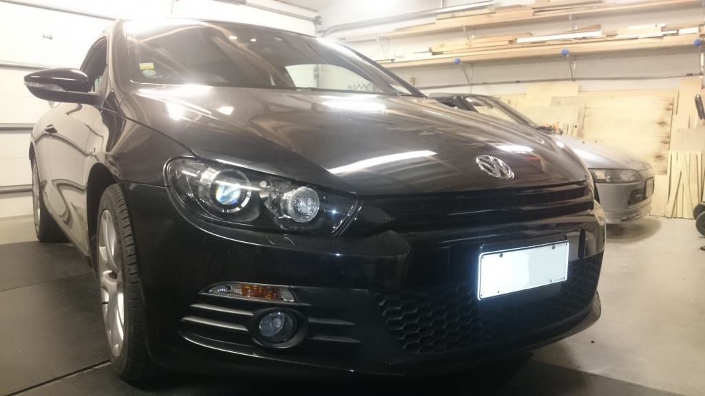 Scirocco in for an Obsessive Alarm Install