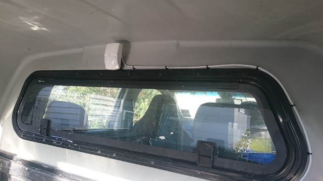 PIR Sensor installed in a 2012 Holden Colorado