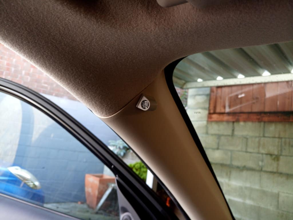 Movement Sensors fitted in the Outlander