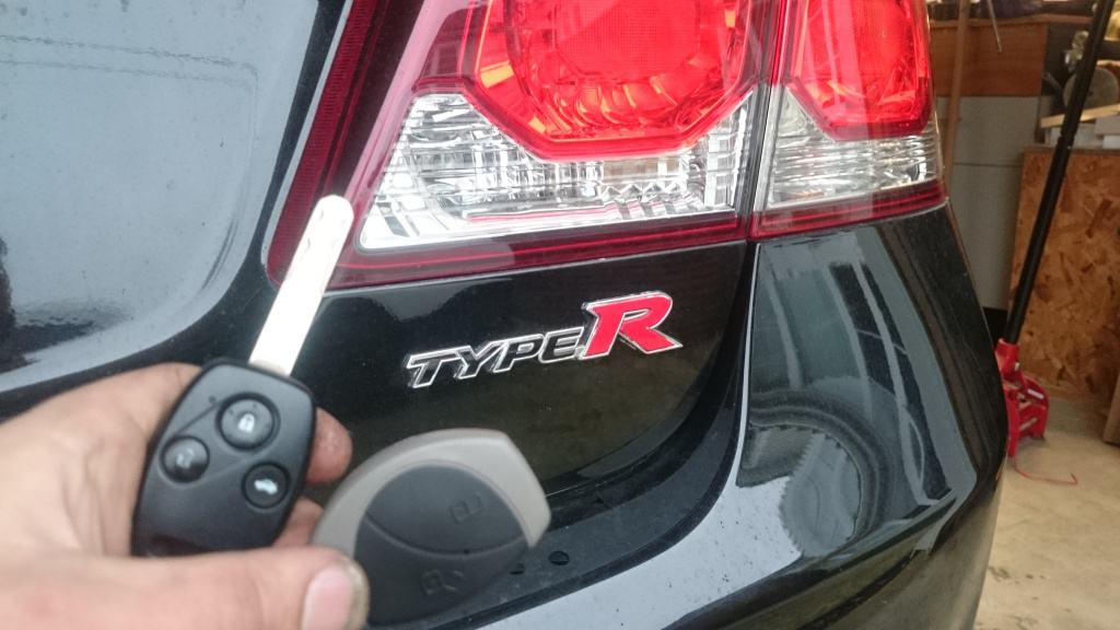 Honda Civic Alarm in a Type R