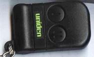 Uniden alarm remote